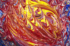 Acrylfarben - Beschaffenheit Lizenzfreie Stockfotografie