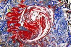Acrylfarben - Beschaffenheit Lizenzfreie Stockfotos