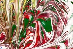 Acrylfarben - Beschaffenheit und Farben Stockfotos