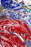 Acrylfarben - Beschaffenheit und Farben Stockbilder