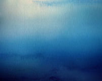 Acrylfarben im Wasser lokalisiert entziehen Sie Hintergrund Stockbild