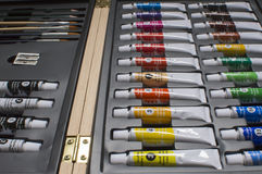 Acrylfarbenrohre Lizenzfreie Stockfotografie