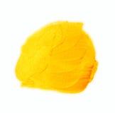 Acrylgoldbürstenanschläge mit Beschaffenheit malen Flecke lokalisiert, handgemalt Stockfotografie