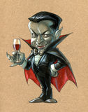 Zählung Dracula Lizenzfreies Stockbild