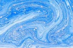 Жидкостное акриловое Жидкая помарка цвета искусства стоковые фотографии rf