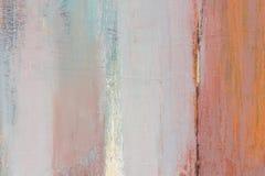 Абстрактная картина Конструированная текстура акриловая на субстрате, предпосылка стоковые фото