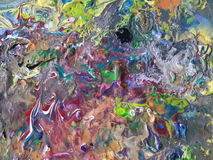 Acrylic abstract painting canvas texture. Acrylic abstract painting canvas royalty free stock images