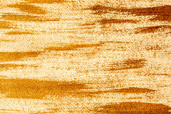 Acrylic background with a bronze brush strokes Stock Photo