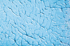 Acrylic Blue Paint Stock Image