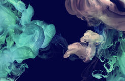 Free Acrylic Colors In Water. Abstract Background. Stock Photo - 85978760