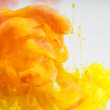 Acrylic colors ink Stock Images