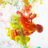 Acrylic colors ink Stock Photos