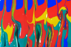 Acrylic colors Stock Photography