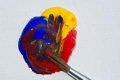 Acrylic Colours Stock Image