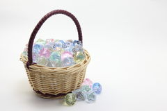 Acrylic diamond with a basket. I have taken a photo, so beautiful acrylic diamond with a basket Stock Photo