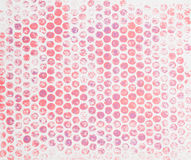 Acrylic dots - textured background Royalty Free Stock Images