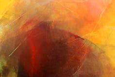 Acrylic glazes on canvas vector illustration