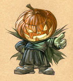 Pumpkinhead Royalty Free Stock Images
