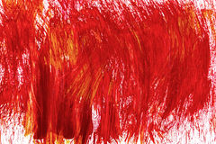 Acrylic hand drawn red abstract splash stains Royalty Free Stock Photography