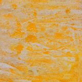 Acrylic orange texture, handmade, for design. And background stock photos