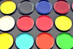 Acrylic paint Stock Photo