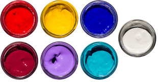 Acrylic Paint Royalty Free Stock Images