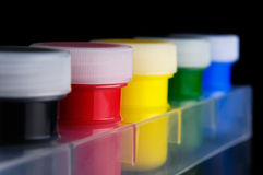 Acrylic Paint Royalty Free Stock Photo