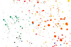 Acrylic Paint Splatters and spots for Background royalty free stock images