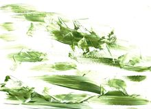 Acrylic paint texture abstract drawing Royalty Free Stock Photo