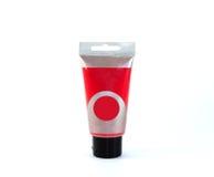 acrylic paint  tube. Royalty Free Stock Image