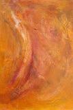 Acrylic Painting Background. Orange acrylic abstract painting background Royalty Free Stock Images