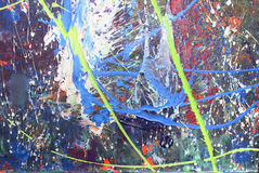 Acrylic Painting Royalty Free Stock Photography