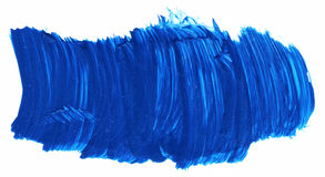 Acrylic paints background in blue tones Royalty Free Stock Photography