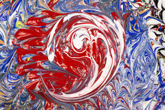 Acrylic paints - texture royalty free stock photos