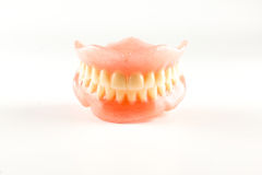 Acrylic removable prosthesis Royalty Free Stock Photo