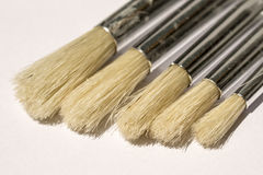 Acrylic Round Paintbrush Royalty Free Stock Image