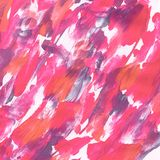Acrylic texture pink color, handmade for background. Or design, wallpaper vector illustration