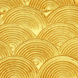 Acrylic textured gold paint abstract Stock Images