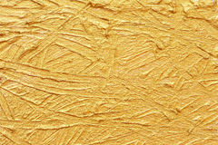 acrylic textured gold paint abstract Royalty Free Stock Images