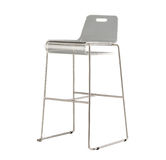 Acrylic and transparent tall stool Royalty Free Stock Photography