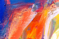 Acrylics and oils background Stock Photo