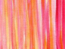 Acrylique abstrait et fond peint par aquarelle Photographie stock