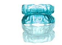Acrylique - dentier-plein positionnement d'avant de silicium Photo libre de droits