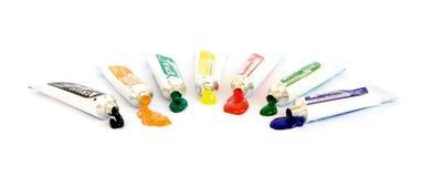 Acryllack Lizenzfreies Stockbild