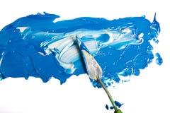 Acryllack getrennt Lizenzfreie Stockfotos