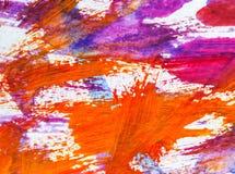 Acrylmalerei auf Papierhintergrundzusammenfassungsbeschaffenheit Stockfotos