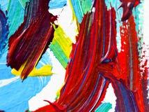 Acrylmalereiwasser auf Papierhintergrundzusammenfassungsbeschaffenheit Stockbild