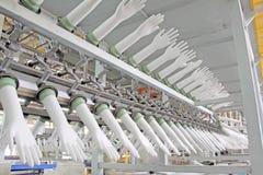Acrylonitrile butadiene gloves production line Royalty Free Stock Photos