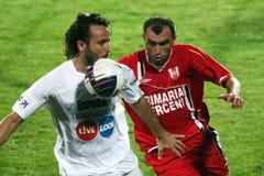 ACS Berceni  - CFR Cluj Stock Photo