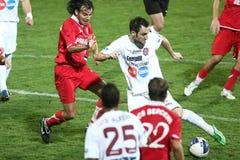 ACS Berceni - CFR Cluj Royalty-vrije Stock Fotografie